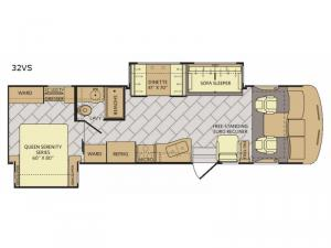 Southwind 32VS Floorplan Image