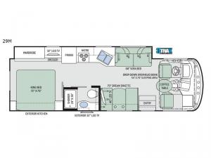 Hurricane 29M Floorplan Image
