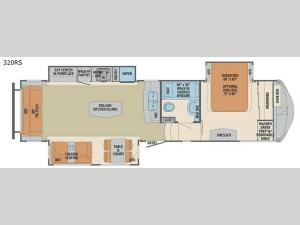 Columbus F320RS Floorplan Image