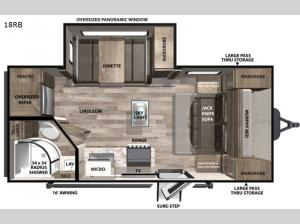 Vibe 18RB Floorplan Image
