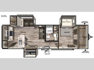 Vibe 31ML Floorplan Image