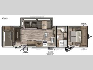 Vibe 32MS Floorplan Image