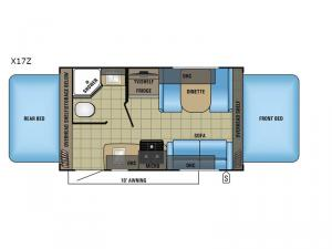 Jay Feather X17Z Floorplan Image