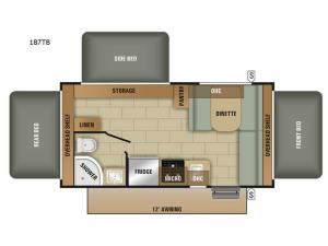 Launch Outfitter 187TB Floorplan Image