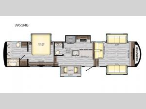 Redwood 3951MB Floorplan Image