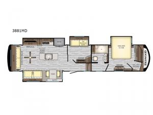 Redwood 3881MD Floorplan Image