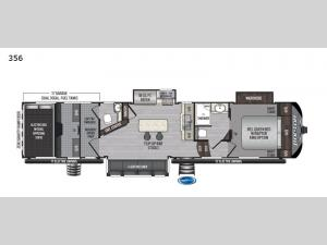 Raptor 356 Floorplan Image