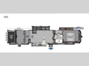 Raptor 424 Floorplan Image