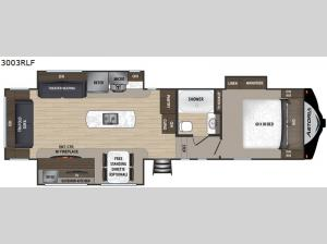 Astoria 3003RLF Floorplan Image
