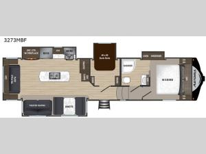 Astoria 3273MBF Floorplan Image