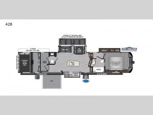 Raptor 428 Floorplan Image