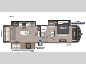Montana High Country 295RL Floorplan Image