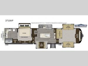Alpine 3710KP Floorplan Image