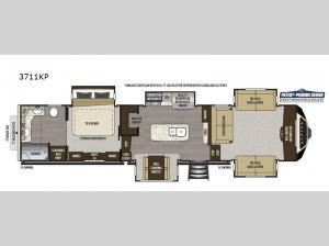 Alpine 3711KP Floorplan Image