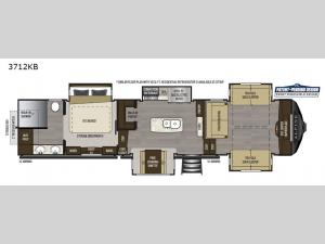 Alpine 3712KB Floorplan Image