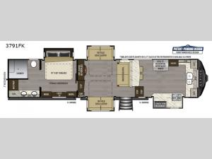 Alpine 3791FK Floorplan Image