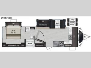 Kodiak Ultimate 2921FKDS Floorplan Image