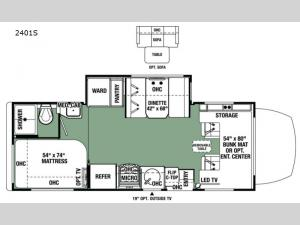 Forester MBS 2401S Floorplan Image