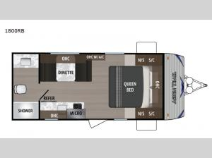 Aspen Trail LE 1800RB Floorplan Image