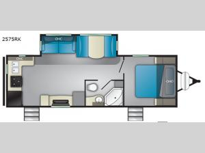 Wilderness 2575RK Floorplan Image