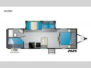 Wilderness 2625BH Floorplan Image