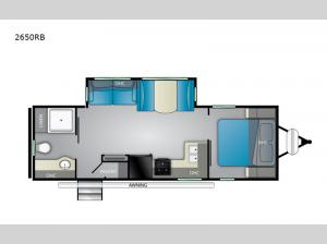 Wilderness 2650RB Floorplan Image