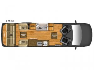 Xalta 2 RS LX Floorplan Image