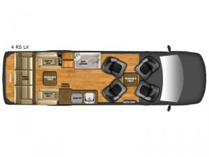 Xalta 4 RS LX Floorplan Image