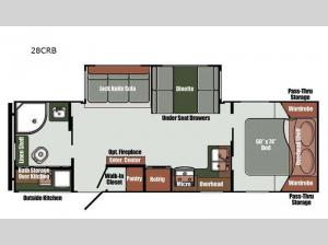 Envision Limited Edition 28CRB Floorplan Image
