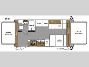Surveyor 192T Floorplan Image
