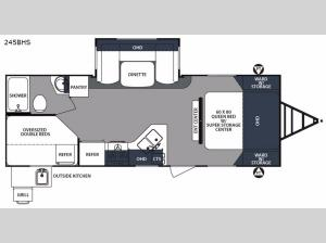 Surveyor 245BHS Floorplan Image