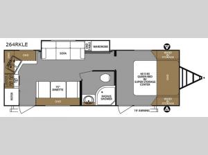 Surveyor 264RKLE Floorplan Image