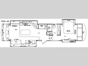 Mobile Suites Aire MSA 40 Floorplan Image