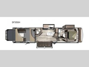 Silverstar THX SF350H Floorplan Image