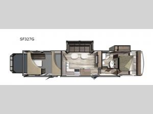 Silverstar THX SF327G Floorplan Image