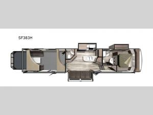 Silverstar THX SF383H Floorplan Image