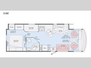 Vista 31BE Floorplan Image