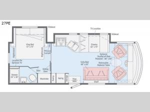 Vista 27PE Floorplan Image