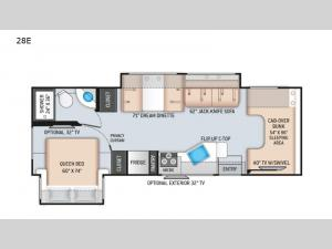 Chateau 28E Floorplan Image