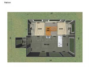 Black Series Camper Patron Floorplan Image