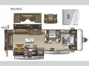 Mesa Ridge Limited MR275RLS Floorplan Image