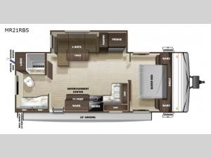 Mesa Ridge Conventional MR21RBS Floorplan Image