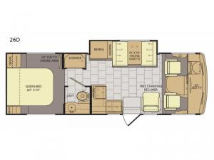 Flair 26D Floorplan Image