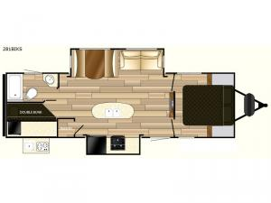 Fun Finder Signature Edition F-281BIKS Floorplan Image