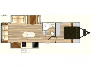 Fun Finder Signature Edition F-319RLDS Floorplan Image