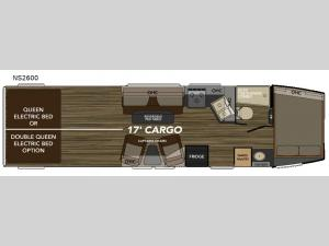 Weekend Warrior Extralite NS2600 Floorplan Image