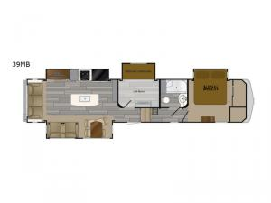 Bighorn Traveler 39MB Floorplan Image