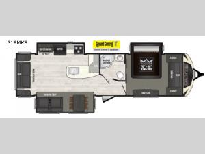 Sprinter 319MKS Floorplan Image