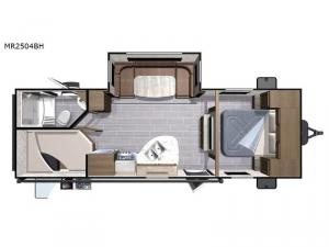 Mesa  Ridge Lite MR2504BH Floorplan Image
