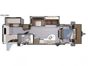 Mesa  Ridge Lite MR3110BH Floorplan Image